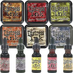 ~ How to Use Distress Inks ~