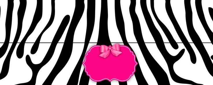 free-printable-zebra-black-and-pink-kit-021.png (1181×472)