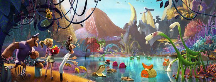 Tempêtes de boulettes géantes 2, l'île des miam-nimaux de Cody Cameron et Kris Pearn