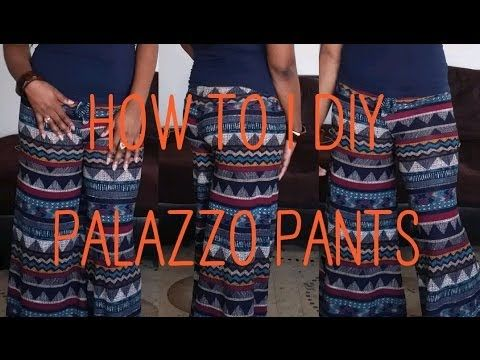 How To | DIY - Palazzo Pants (+playlist)