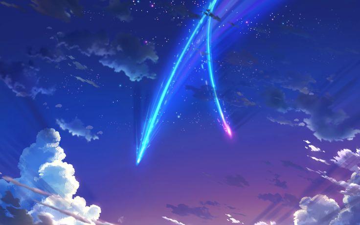 Anime Your Name.  Kimi No Na Wa. Wallpaper