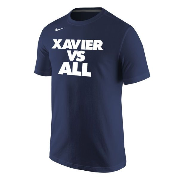 Xavier Musketeers Nike Selection Sunday All T-Shirt - Navy - $25.99