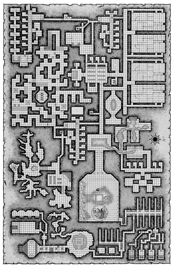 map grid dungeons and dragons pathfinder