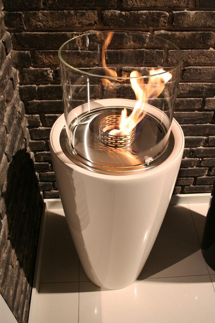 Nice from @DecoflameApsDk. Fireplace, bioethanol, pejse