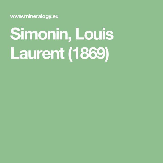 Simonin, Louis Laurent (1869)