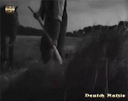 Bund Deutscher Mädel Weizen geerntet und es groß in der Reichs