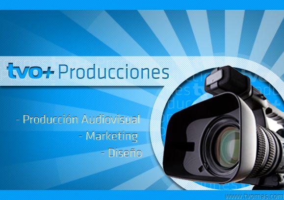 Tapa brochure TVOMAS PRODUCCIONES