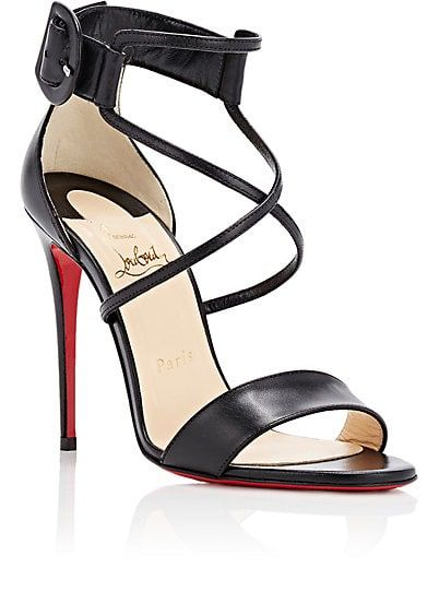 6619233c819 Christian Louboutin Choca Leather Sandals - Heels - 505050724