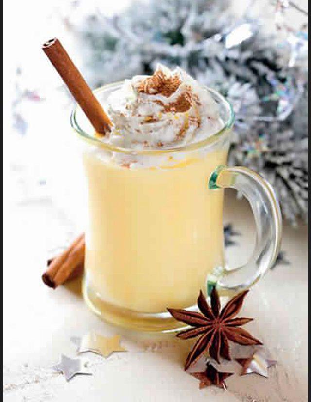 Les meilleures boissons chaudes de l'hiver Lait de poule