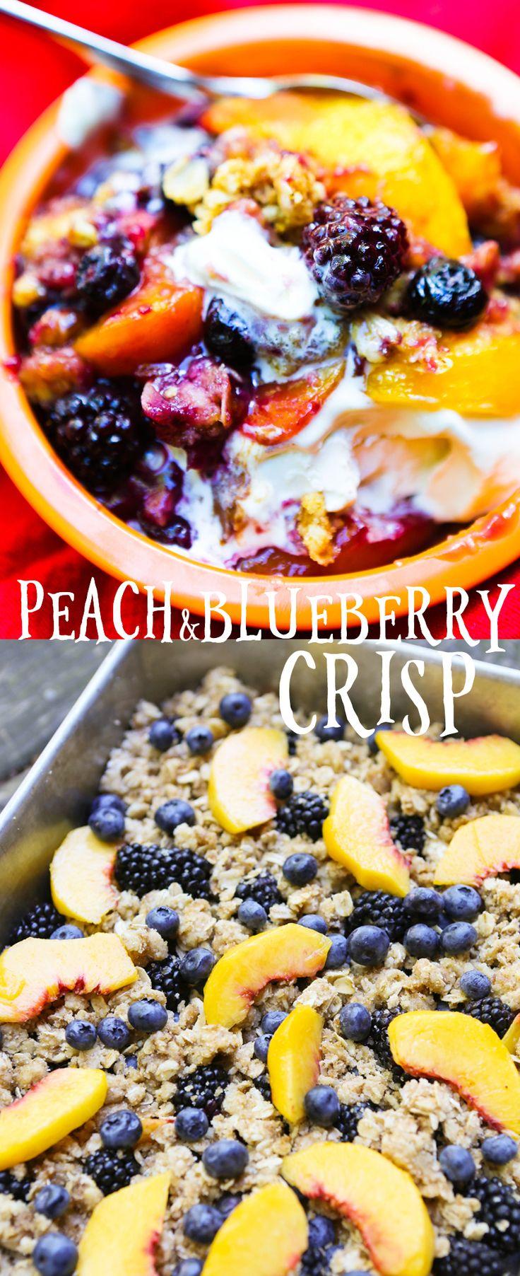 25+ best ideas about Peach Blueberry Crisp on Pinterest ...