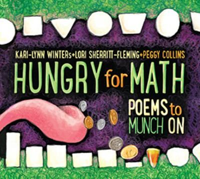 Poetry collection for young readers with the emphasis on math concepts including measuring time, patterns, counting, symmetry, numbers, shapes, estimating and more!