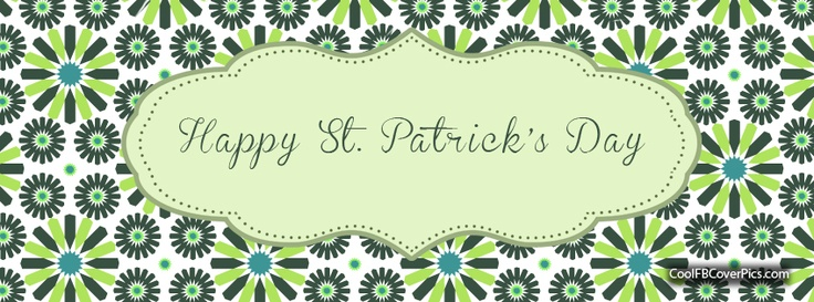 FREE facebook cover pics...St. Pats day
