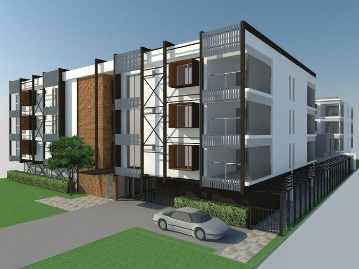 Archiplan // Renou St // Apartments // Concept Render
