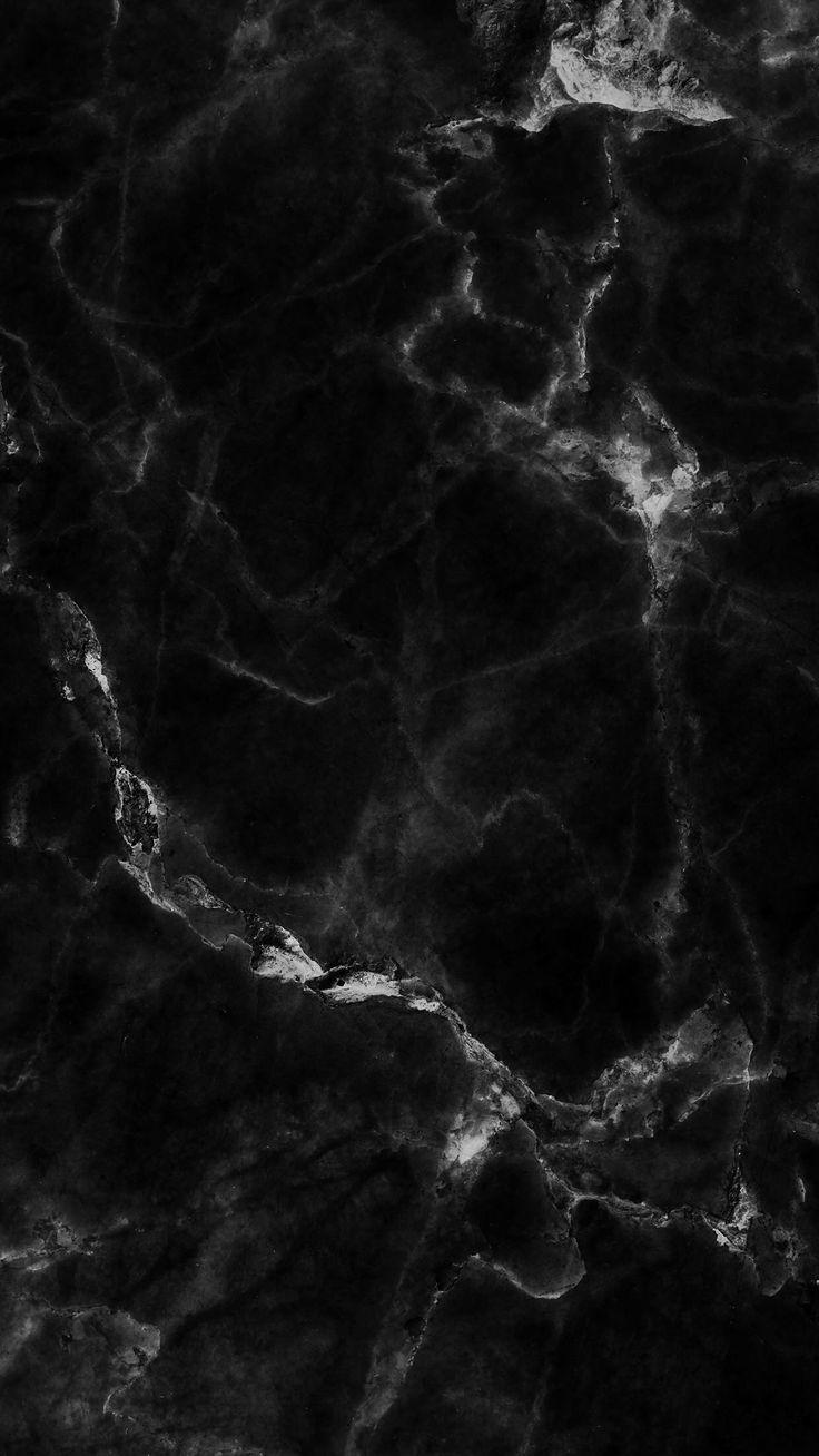 Schwarzer Marmor Siyah Mermer Iphone Arkaplanları Iphone