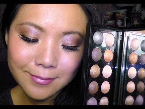 ELF Baked Shadow Palette Tutorial. Have this palette and LOVE her tutorial!