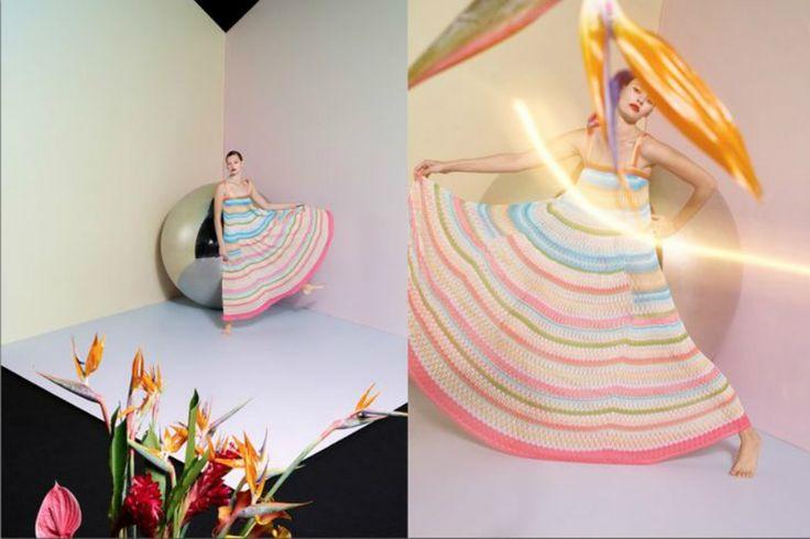 Missoni Summer 2015 Campaign featuring Amanda Murphy on modelsoftheworld.com