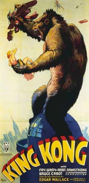 35. King Kong (1933) - The 75 Most Iconic Movie Posters of All Time | Complex