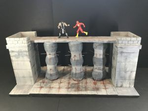 """I have been commissioned to construct pieces for fellow collectors, in this section I will be displaying those pieces for you.  If you like anything that I have created or would like me to create a specific diorama to display your figures, either 3 - 6"""" or more. Please get in contact with your ideas and genre via the Contact Me page."""