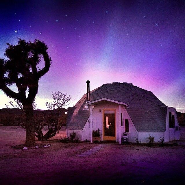 Louisiana Dome House: Dome In The Desert, Joshua Tree California. Available On