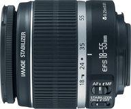 Canon - EF-S 18-55mm f/3.5-5.6 IS II Standard Zoom Lens - Black