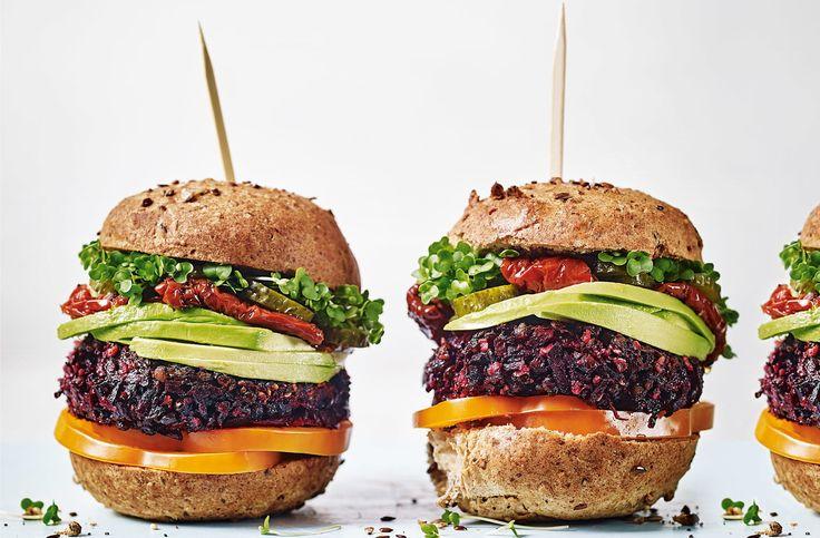 Beetroot burgers Recipe Beetroot burgers, Beetroot