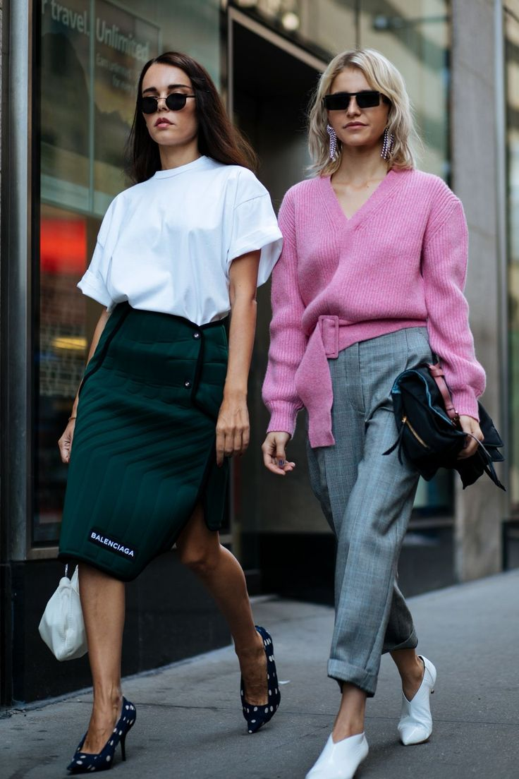 New York Fashion Week Spring 2018 Best Street Style