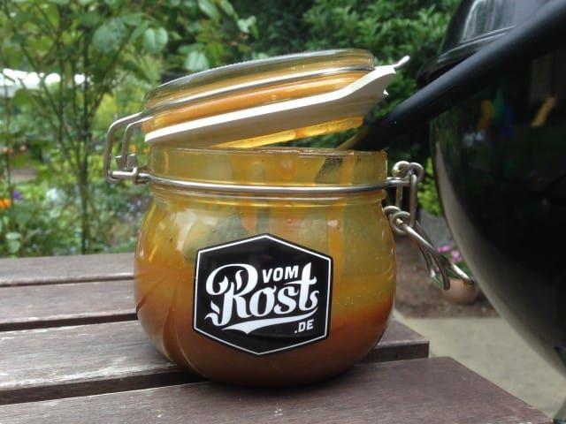 Honig-Senf Soße