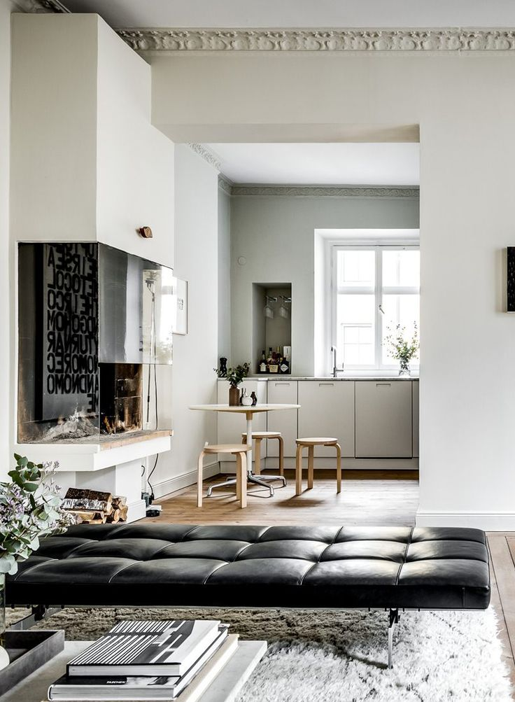 Besides the obvious, the interior with all the coveted design classic and all the dream lighting, this is one of the nicest apartments I've seen in a long time. I like the simple expression with the...