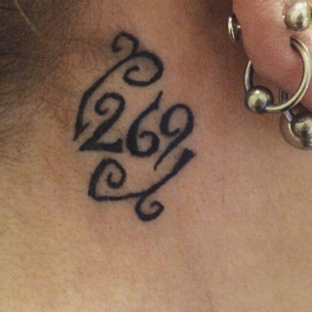 269 tattoo