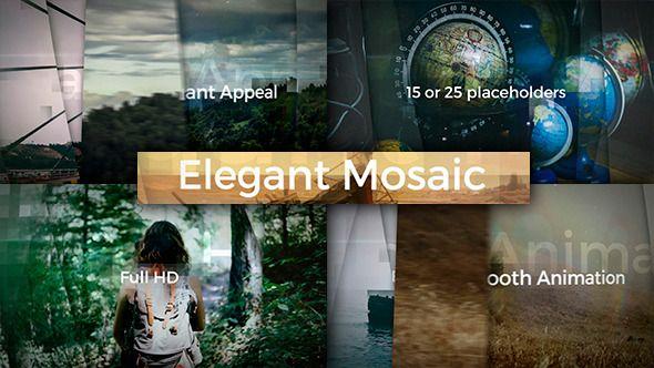 Elegant Mosaic Opener  • After Effects Template • Download ↓ https://videohive.net/item/elegant-mosaic-opener/12761792?ref=pxcr