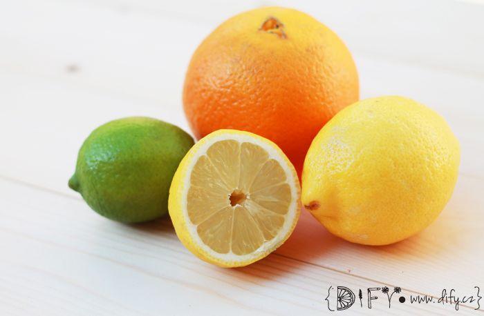 Citrusové esenciální oleje, osvěžení v pár kapkách