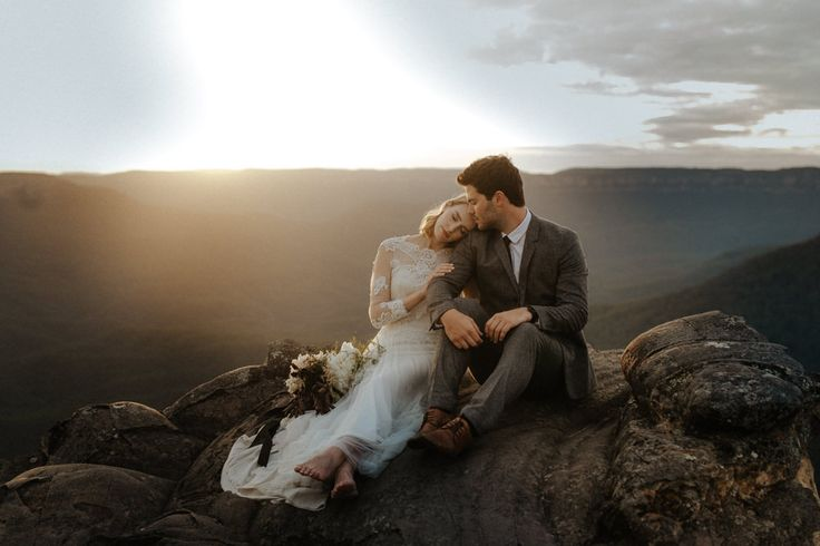 This entire story is incredible - I was fortunate enough to capture Emily & Sam's Blue Mountain Elopement near Sydney Australia. Check out their Wedding.