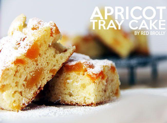 Apricot Tray cake