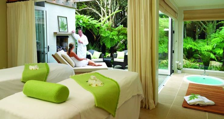 Discover our luxury spas whilst on holiday in New Zealand
