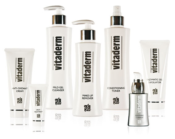 Vitaderm daily skin care products