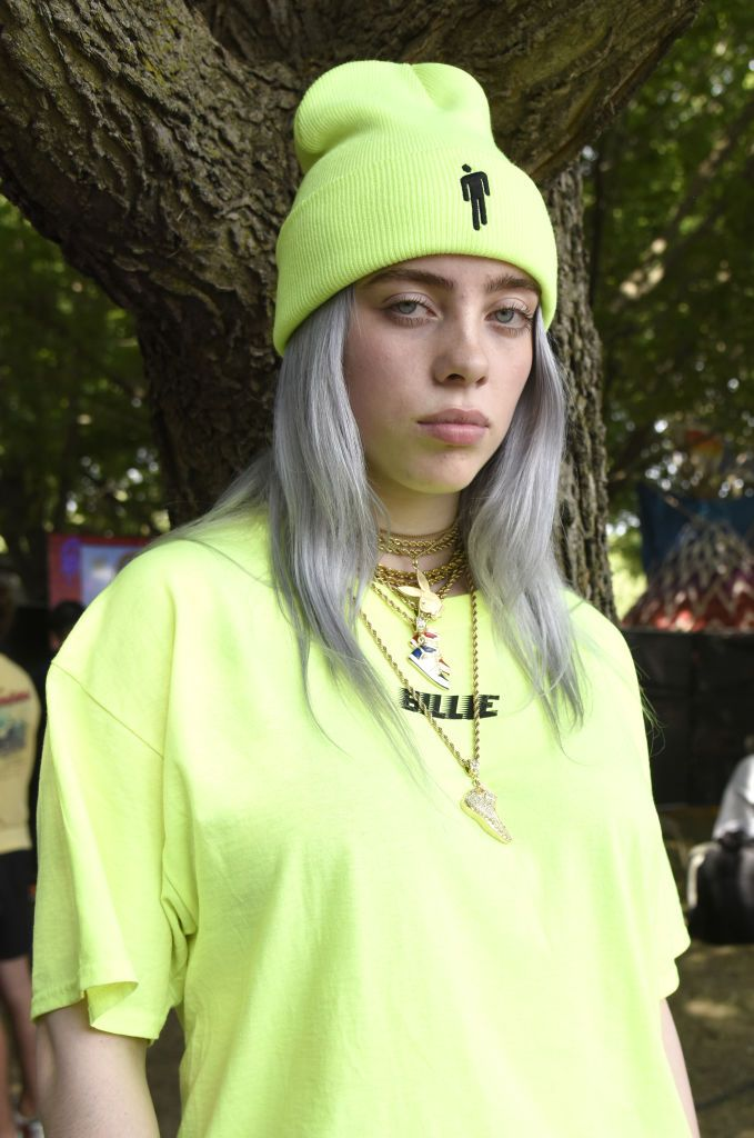 Chicago Escobar Halloween 2020 Billie Eilish poses during Lollapalooza 2018 at Grant Park on