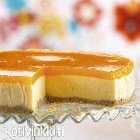 Mango-juustokakku | Kotivinkki