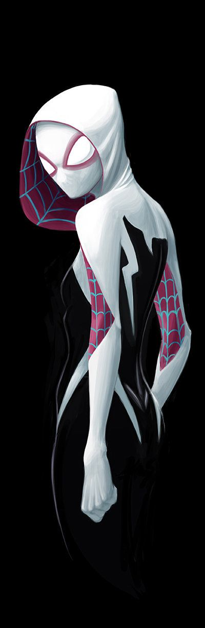 Spider-Gwen by David Joyce                              …