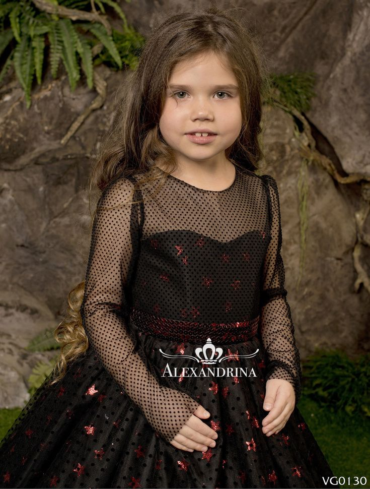 Flower <b>black Girl Dress</b> - Birthday Wedding Party Holiday ...