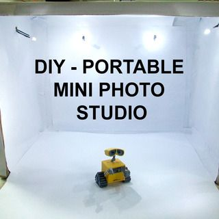 DIY - Portable Mini Photo Studio -- http://www.instructables.com/id/DIY-Portable-Mini-Photo-Studio/