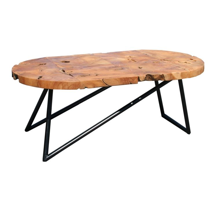 Chic Teak Coffee Table: Best 25+ Oval Coffee Tables Ideas On Pinterest