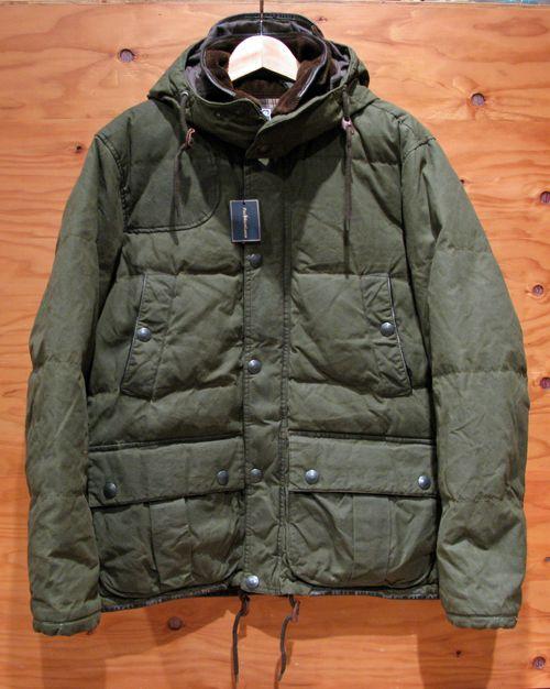 ラルフローレン オイルドクロスダウンジャケット Polo Ralph Lauren Oiled Cloth Down Jacket   東京・中目黒 Current Generalstore