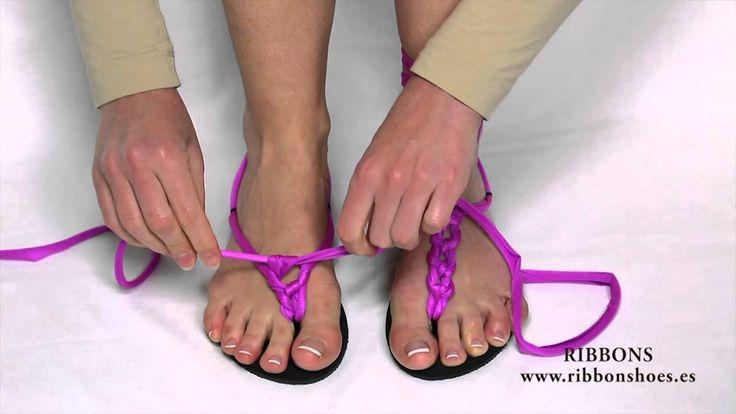 Ribbon shoes - sandalias multiformas