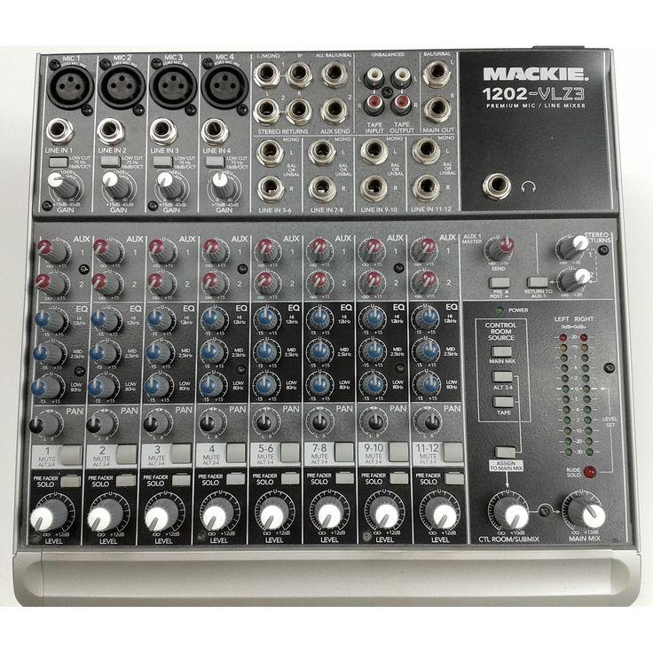 Mackie 1202-VLZ3 12-Channel Mixer
