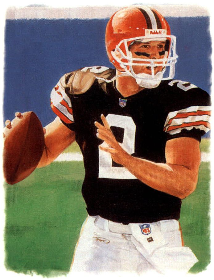 Tim Couch, Browns by Ron Stark.