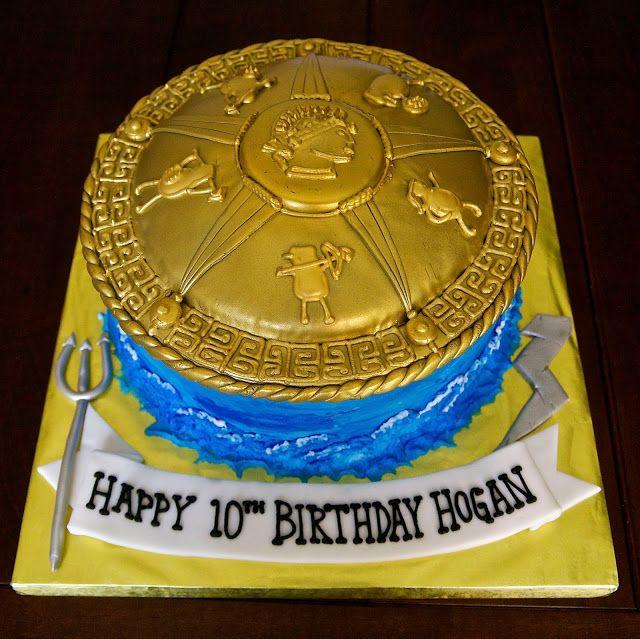 katycakes, Percy Jackson cake