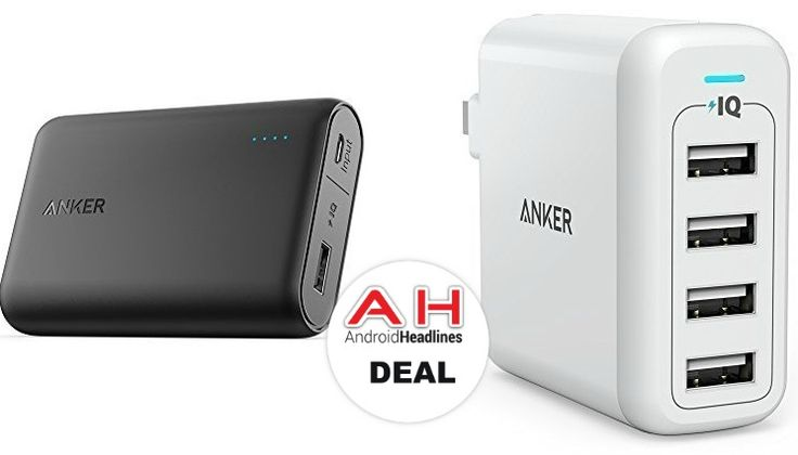 Deal: Anker Power Bank & 4-Port USB Wall Charger On Sale – Today Only #android #google #smartphones