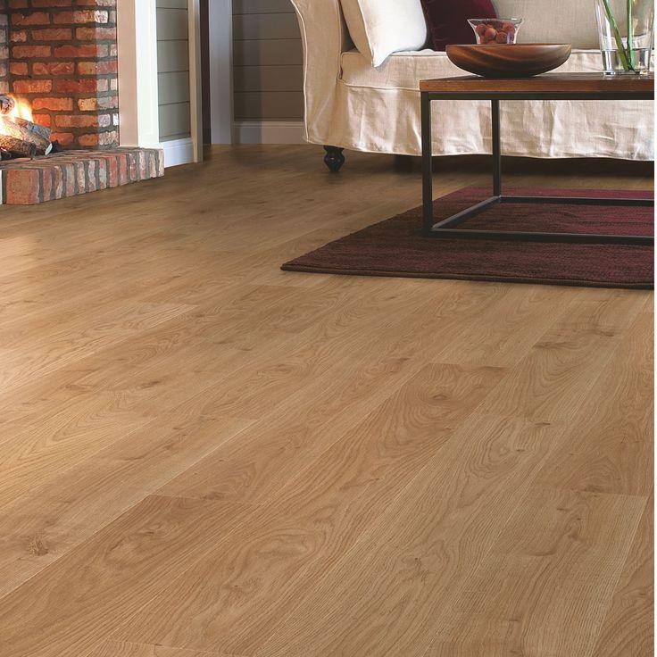 Natural Oak Effect Laminate Flooring Part - 16: Quickstep Andante Natural White Oak Effect Laminate Flooring 1 72 M² Pack  Diy And Crafts