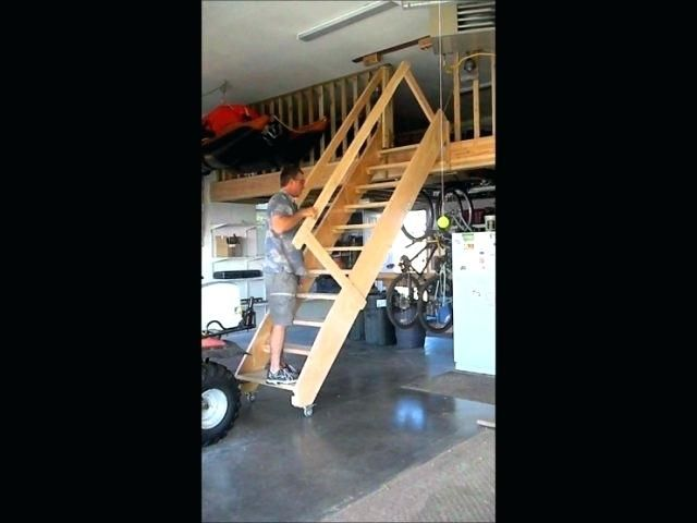 Heavy Duty Attic Stairs Pull Down Garage Pull Down Stairs Contemporary Garage Pull Down Stairs Top Photo Attic Renovation Attic Remodel Attic Stairs Pull Down