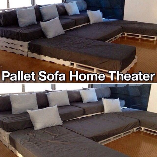 Home Theater Design Ideas Diy: 12 Clever Ways To Repurpose Wooden Pallets
